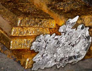 Китай и Индия продолжают приобретать золото