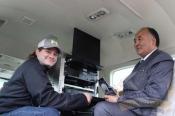 Презентация специализированного самолета Cessna Grand Caravan 208 предназначенного для аэрогеофизических работ. Алматы 9 октября 2014 года, аэропорт Боролдай
